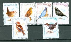 BULGARIA  BIRDS #3281-3286...SET...MNH...$3.45