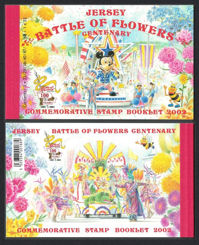 Jersey Battle of the Flowers Booklet SG#SB61