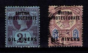 Oil Rivers (Nigeria) 1892-94 Victoria Definitive Overprint [Unused / Used]
