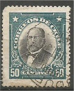 CHILE, 1911  used 50c, Zanartu Scott 108