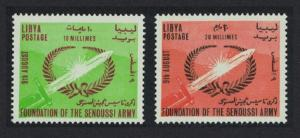 Libya Foundation of the Senussi Army 2v SG#317-318