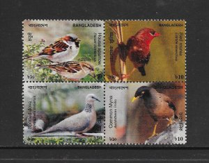 BIRDS - BANGLADESH #772    MNH