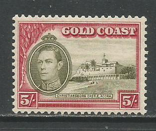 Gold Coast  #126  MLH  (1938)  c.v. $7.50