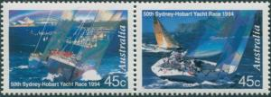 Australia 1994 SG1491-1492 Sydney Hobart Yacht Race pair MNH