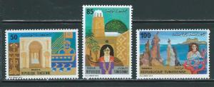 Tunisia 785-7 1981 Mosque set MNH