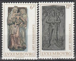 Luxembourg #591-2  MNH (S1853)