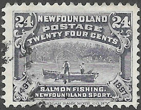 Newfoundland Scott Number 71 FVF Used