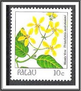 Palau #129 Indigenous Flowers MNH