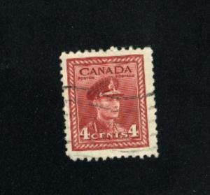 Canada #254  -1  used     PD