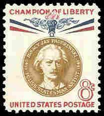 PCBstamps   US #1160 8c Ignacy J. Paderewski, 1960, MNH, (6)
