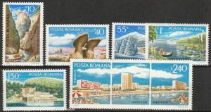 Romania #2235-40  MNH CV $2.55  (K39)