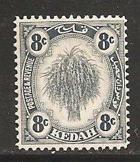 Malaya Kedah SC 32 Mint, Never Hinged