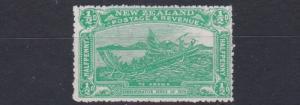 NEW ZEALAND  1906      S G 370    1/2D   EMERALD GREEN     MH