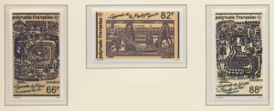 French Polynesia Stamps Scott #527 To 529, Mint Never Hinged - Free U.S. Ship...