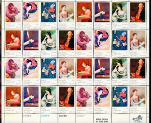 US SCOTT 1530-1537 UPU  Mint NH Sheet of 32