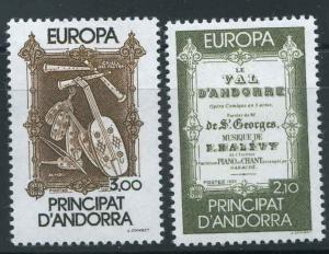 French Andorra Scott 337-338 MNH! Europa! Complete Set!