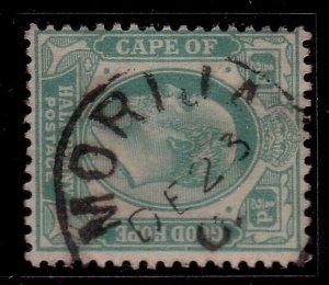 BASUTOLAND 1907 Cape of Good Hope ½d MORIJA cds............................40211