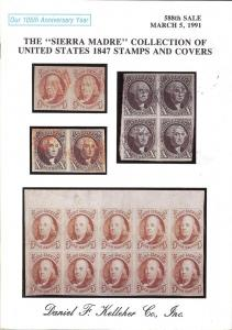 The Sierra Madre Collection of United States 1847 Stamps ...