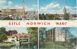 9724 Amateur Radio QSL Card NORWICH ENGLAND