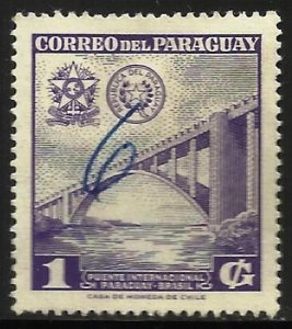 Paraguay 1961 Scott# 576 Used