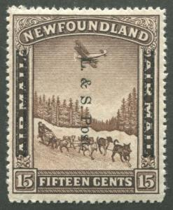 NEWFOUNDLAND #211 MINT VF NH