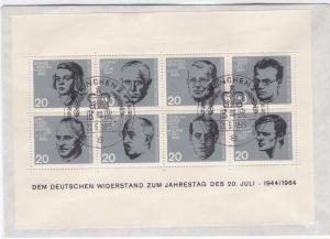 Germany  Munich 1965 anniversary german resistance   stamps cover R20686