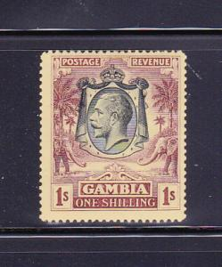 Gambia 123 MH King George V