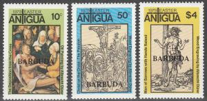 Barbuda #387-9 MNH F-VF CV V$2.50 (SU3692)