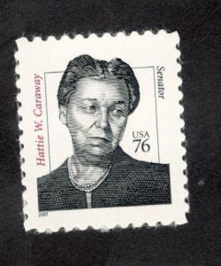 3431 Hattie W. Caraway US Single Mint/nh (Free Shipping)