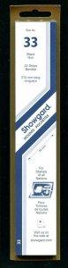 Showgard BLACK Strip Mounts Size 33 = 33 mm Fresh New Stock Unopened