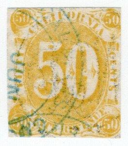 (I.B) US Revenue : Duty Stamp 50c (California)