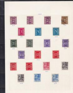 indonesia stamps page ref 16966
