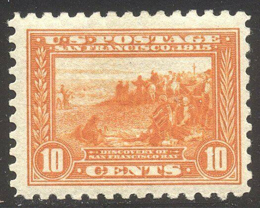 U.S. #404 Mint BEAUTY - 1915 10c Pan-Pacific, P10