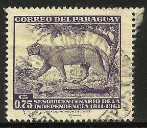 Paraguay 1961 Scott# 594 Used