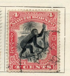 North Borneo 1897-1900 Early Issue Fine Used 14. NW-113870