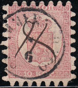FINLAND 5a Used FVF (22019)