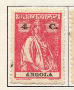 Angola 1914 Ceres Issue Fine Mint Hinged 4c. 141325