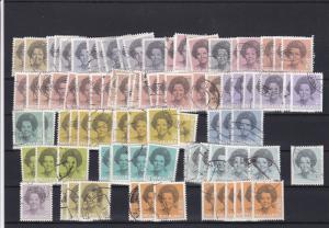 Netherlands Used Stamps Ref 24491