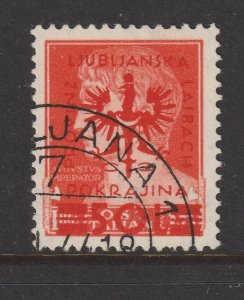 Slovenia (German Occ) a 50L on a 1.75L orange used from 1944