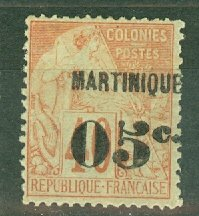 B: Martinique 16 mint CV $65