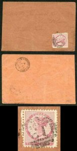 PRINCE EDWARD Is SG12 1862-69 2d rose perf 11.5-12 on Cover