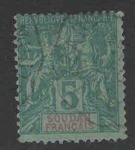 French Sudan Scott 6 Used