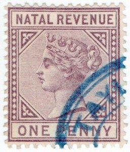(I.B) Natal Revenue : Duty Stamp 1d