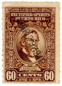 (I.B) Puerto Rico Revenue : Rectified Spirits 60c