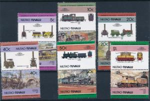 [63583] Tuvalu Niutao 1984 Railway Train Eisenbahn Chemin de Fer  MNH
