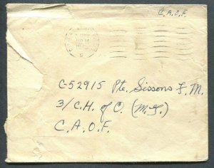 CANADA WWII MILITARY COVER DATED V-J DAY