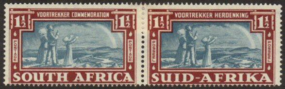 South Africa #80 MH Voortrekker pair