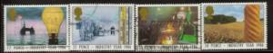 Great Britain Sc 1129-2 1986 Industry Year stamps used