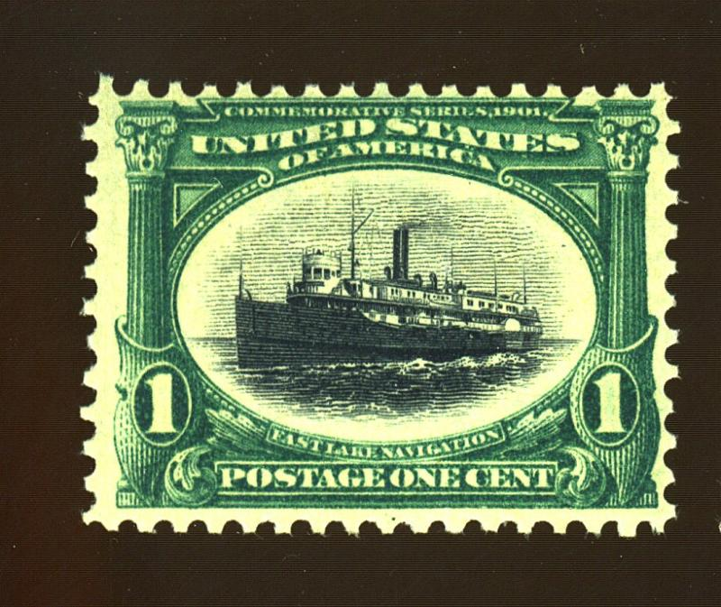 294 MINT F-VF OG NH Cat$42.50