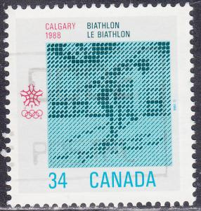 Canada 1112 USED 1986 XV Winter Olympic Games, Calgary